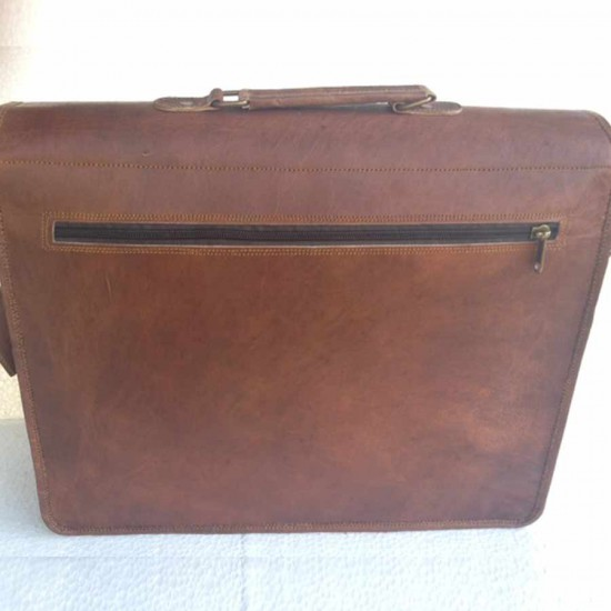 Vintage Leather Laptop Bag
